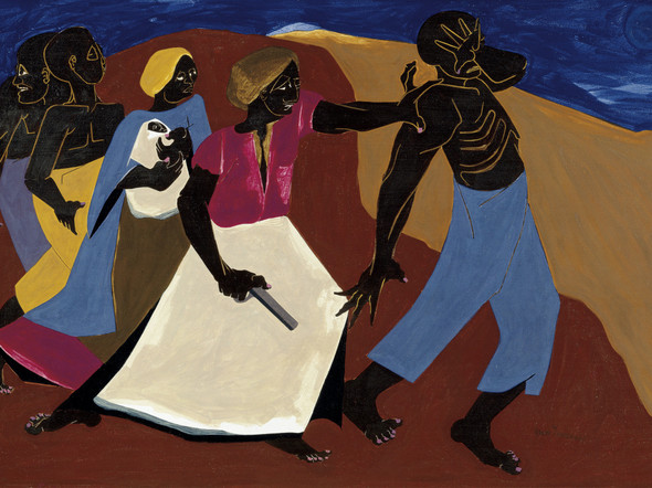 Forward by Jacob Lawrence Print