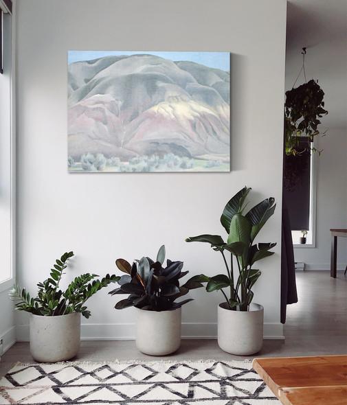 Grey Hill Forms by Georgia O Keeffe