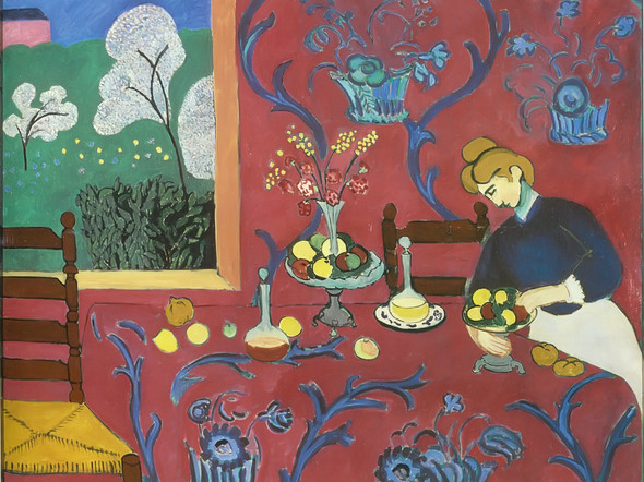 Harmony In Red 1908 by Henri Matisse Print