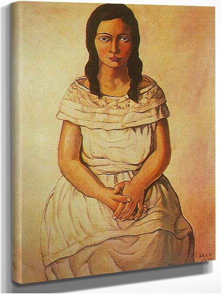 Ana Maria By Salvador Dali