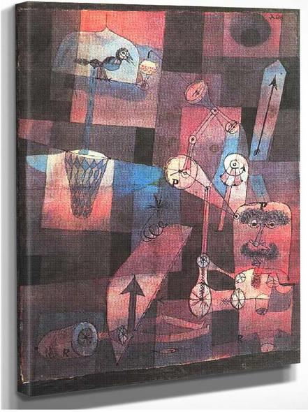 Analysis Of Diverse Perversities 1922 By Paul Klee