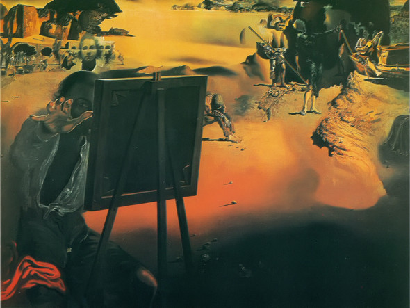 Impressions Of Africa by Dali Print