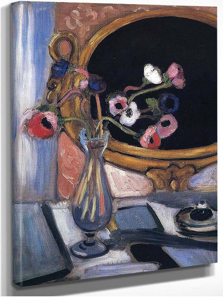 Anemone And Mirror 1920 By Henri Matisse