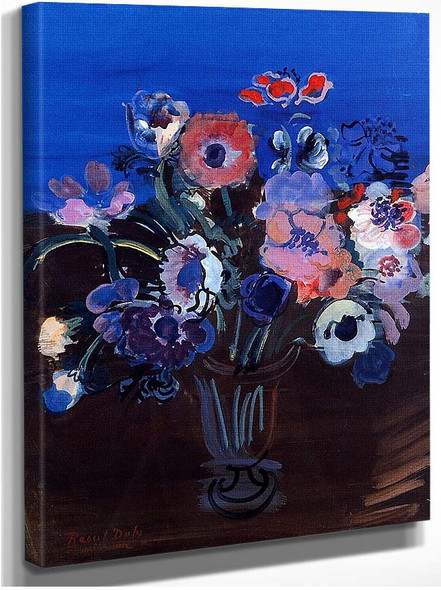 Anemones By Dufy Raoul