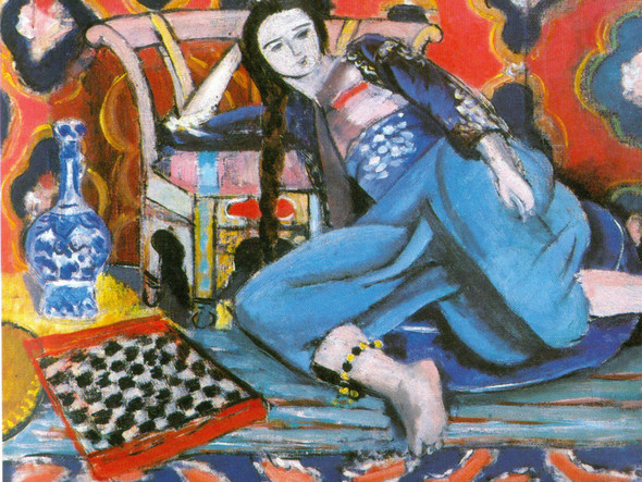 Odalisque With A Turkish Chair by Henri Matisse Print
