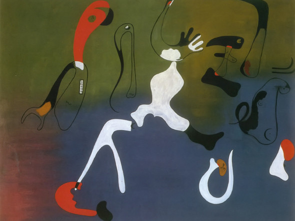 Painting March June 1933 by Joan Miro Print