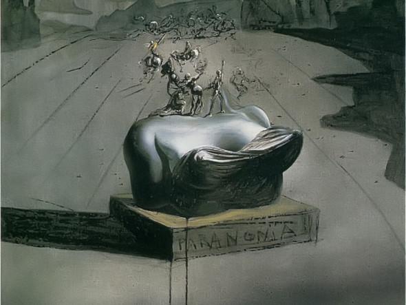 Paranoia by Dali Print