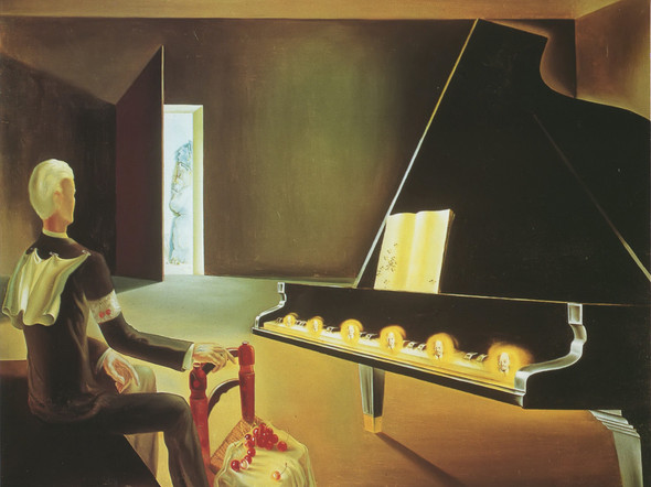 Partial Halluciation Six Apparitions Of Lenin On A Grand Piano by Salvador Dali Print