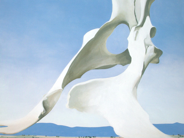 Pelvis With The Distance by Georgia O Keeffe Print