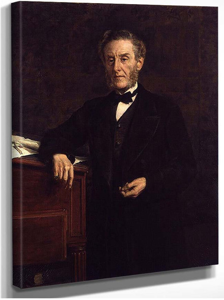 Anthony Ashley Cooper 7Th Earl Of Shaftesbury By John Maler Collier
