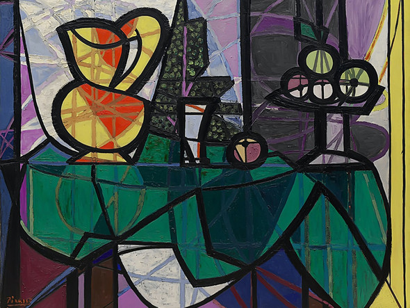 Pitcher And Bowl Of Fruit by Picasso Print