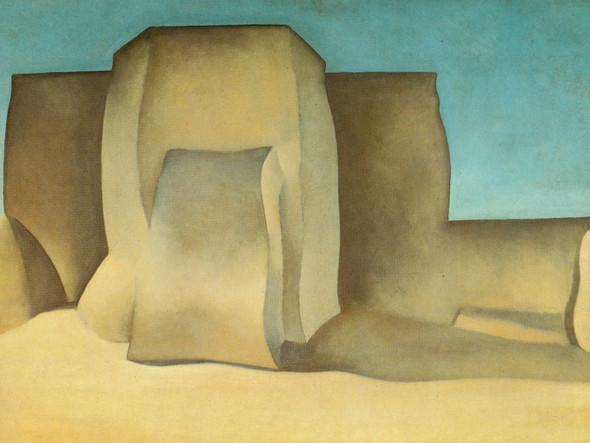 Ransos Church Taos New Mexico by Georgia O Keeffe Print