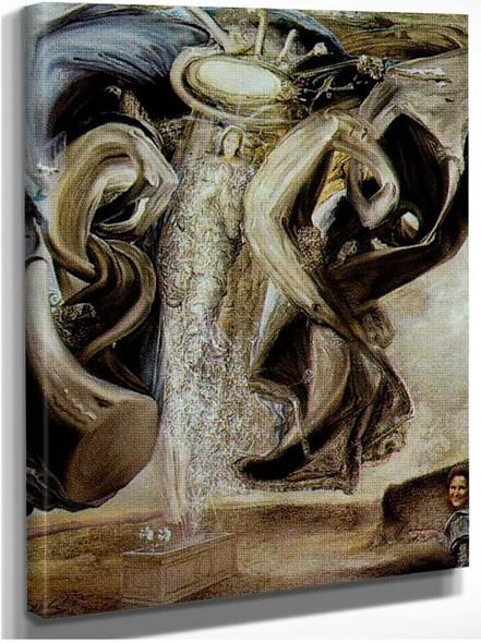 Anti Protonic Assumption By Salvador Dali