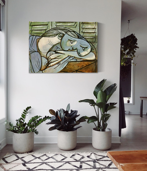 Sleeper Near The Shutters 54x65 by Picasso