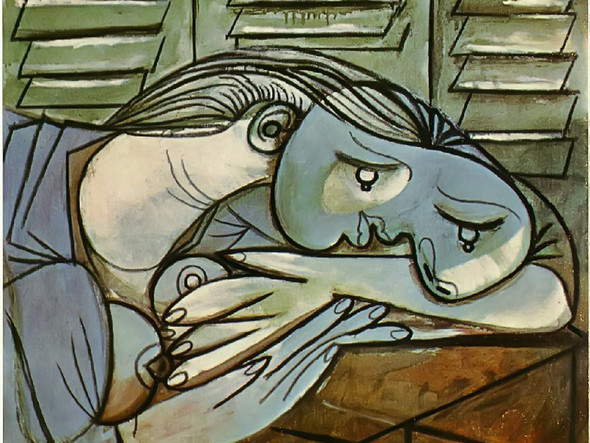 Sleeper Near The Shutters 54x65 by Picasso Print