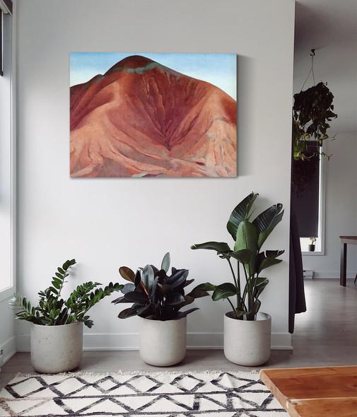 Small Purple Hills by Georgia O Keeffe