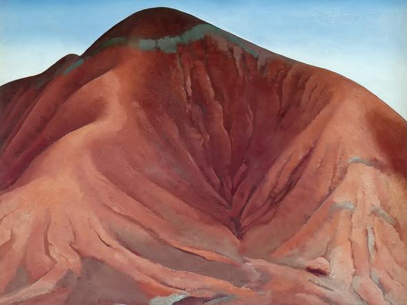 Small Purple Hills by Georgia O Keeffe Print