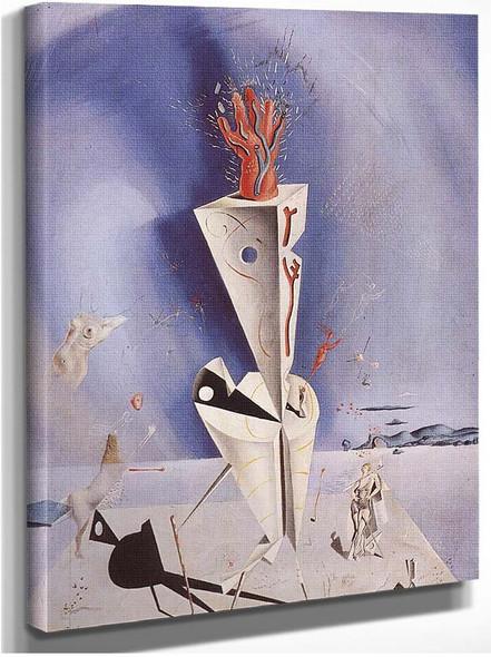 Apparatus And Hand 1927 By Salvador Dali
