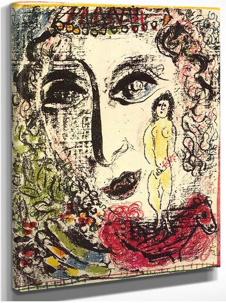 Apparition At The Circus 1963 By Marc Chagall