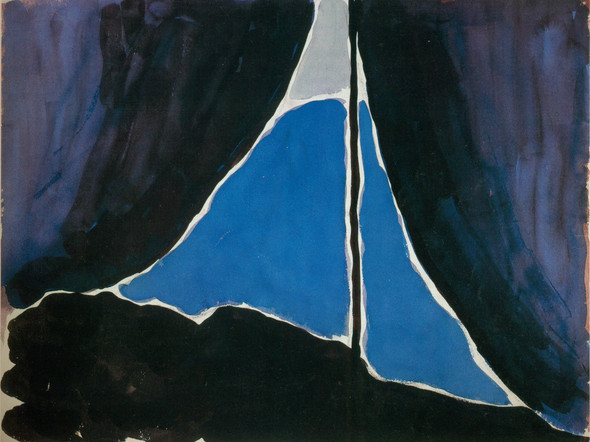 Tent Door At Night by Georgia O Keeffe Print