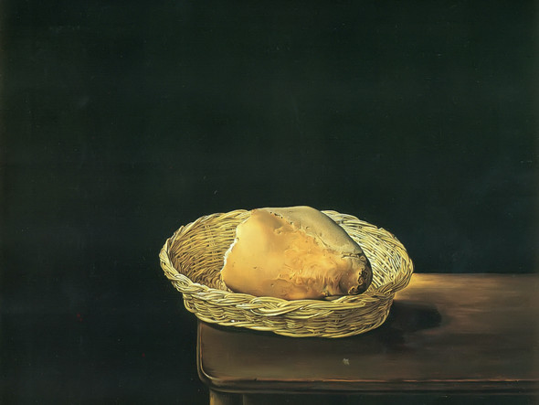 The Basket Of Bread 2 by Dali Print