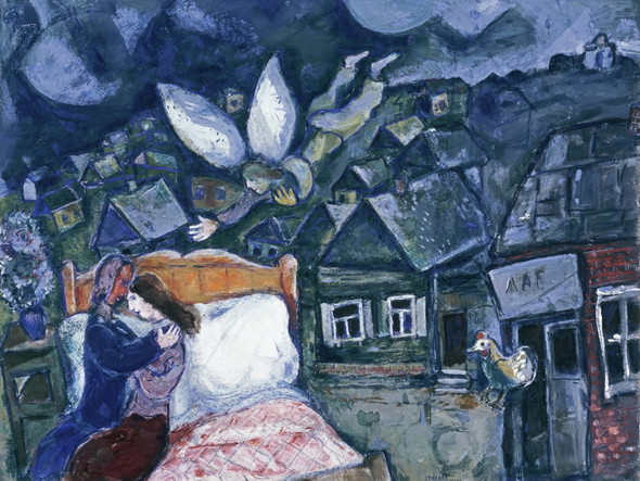 The Dream by Marc Chagall Print