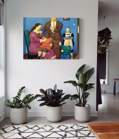 The Family 6 by Botero