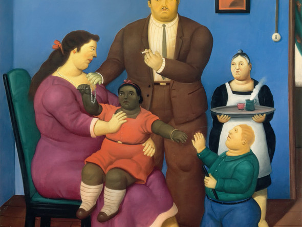 The Family 6 by Botero Print