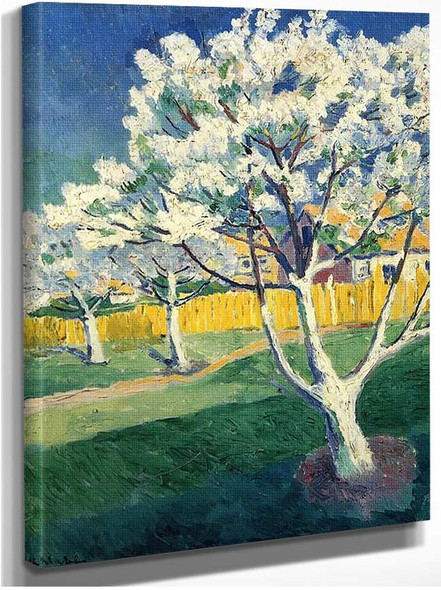 Apple Tree In Blossom By Kazimir Malevich