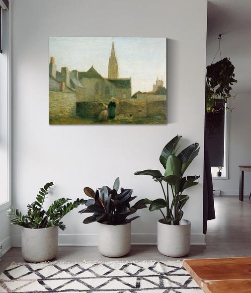 Village In Beittany by Henri Matisse