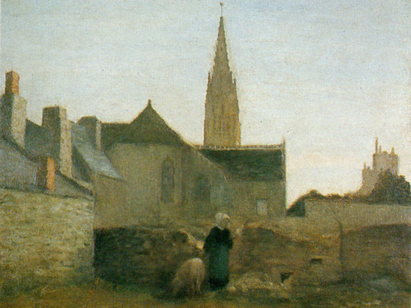 Village In Beittany by Henri Matisse Print