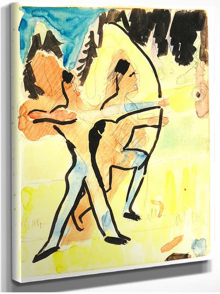 Archer At Wildboden 1937 By Ernst Ludwig Kirchner