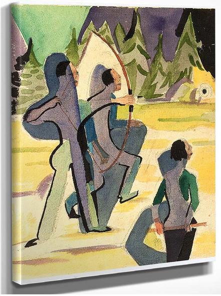 Archer By Ernst Ludwig Kirchner