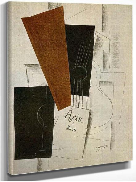 Aria De Bach 1913 By Georges Braque