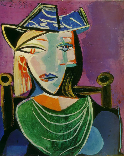 Untitled 55x46 by Picasso 1 Print