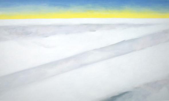 Above Clouds Again by Georgia O Keeffe Print