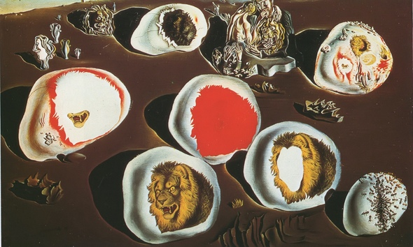 Accommodations Of Desire by Salvador Dali Print