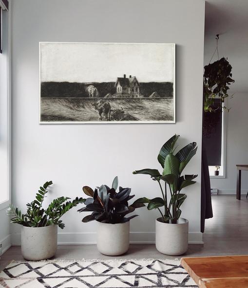 American Landscape by Edward Hopper