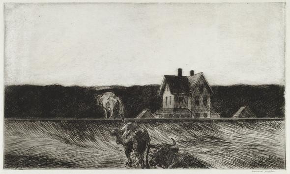American Landscape by Edward Hopper Print
