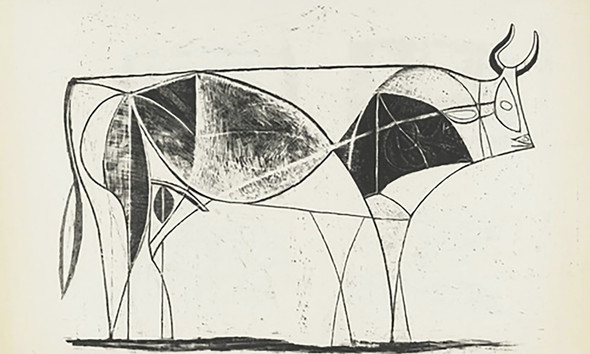Bull (Plate Viii) 31x48museum Of Modern Art New York Usa by Picasso Print