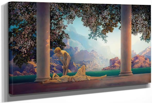 Daybreak by Maxfield Parrish Print