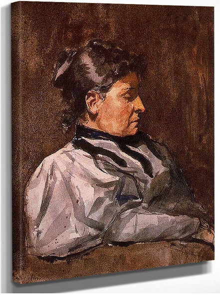 Artist S Mother 1896 By Pablo Picasso