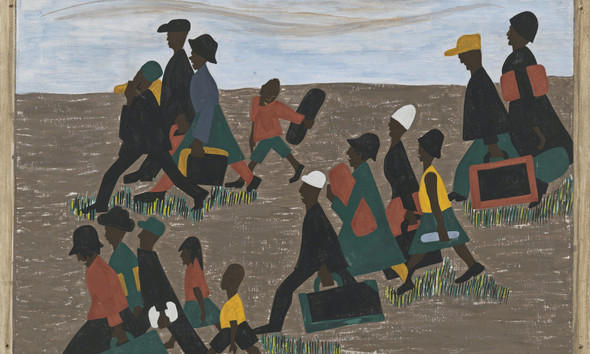 Migration Panel 40 The Migrants Arrived In Great Numbers by Jacob Lawrence Print