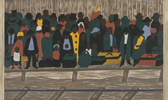 Migration Panel 60 And The Migrants Kept Coming by Jacob Lawrence Print