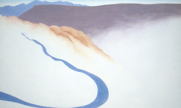 Road Past The View Ii by Georgia O Keeffe Print