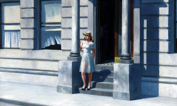 Summertime by Edward Hopper Print