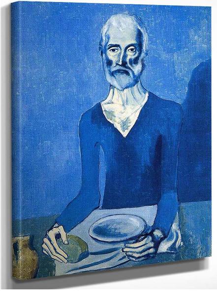 Ascet 1903 By Pablo Picasso