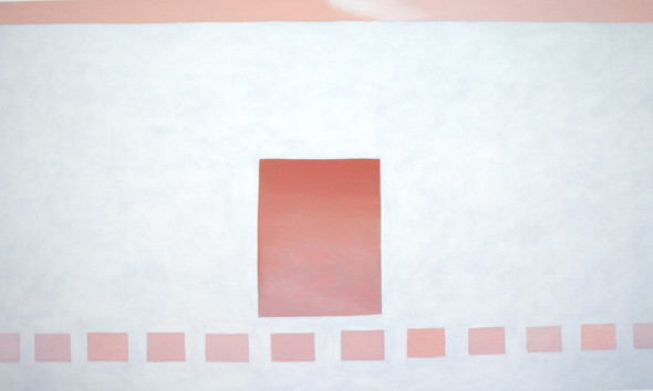 White Patio With Red Door by Georgia O Keeffe Print