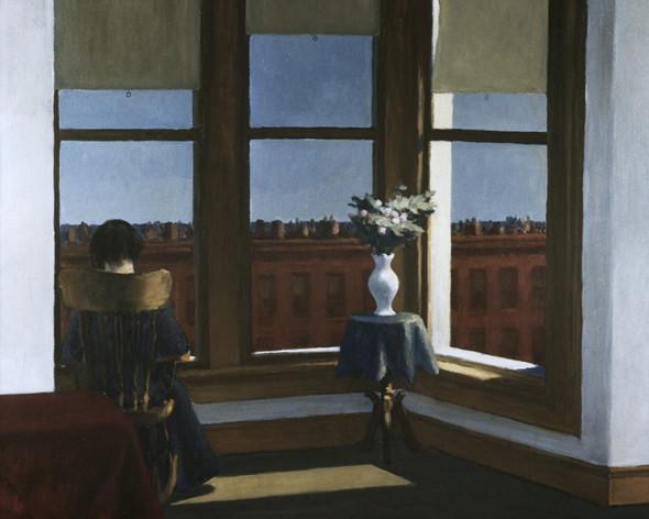 Room In Brooklyn by Edward Hopper Print