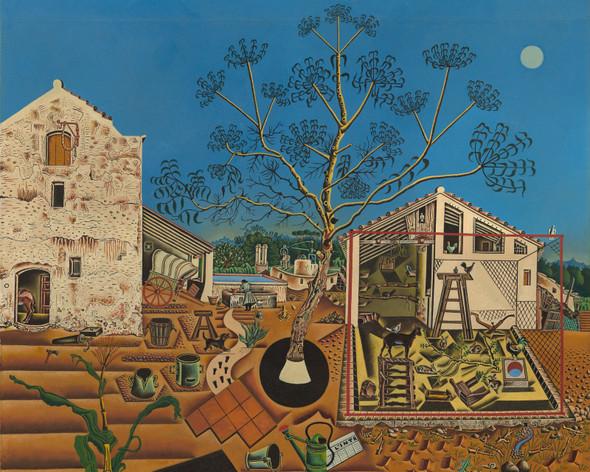 The Farm by Joan Miro Print